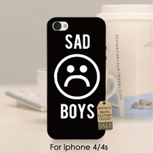 soft black tpu silicone SAD BOYS in dark Top Detailed Popular Phone case For iPhone se 5s 6s 7 plus 4 4s case