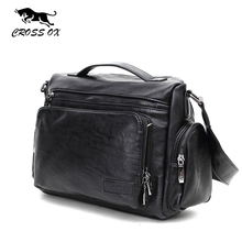 CROSS OX 2016 Autumn New Arrival Messenger Bags For Men Shoulder Bag Business Casual Men's Bag Satchel Travel Bag SL381M(China)
