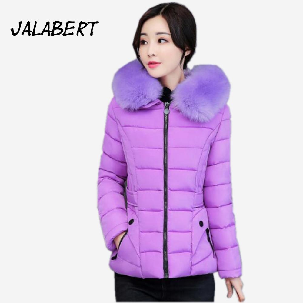 2017 Rushed Full Zipper Ukraine New Women Winter Slim Hooded Coats Female Big Fur Sleeves Leisure Jacket Thickening Overdress Îäåæäà è àêñåññóàðû<br><br>