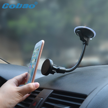 Cobao Universal Mobile Phone Dashboard/Windshield Car Long Gooseneck Magnetic Holder Stand Mount for Gps Smartphone Cellphone(China)