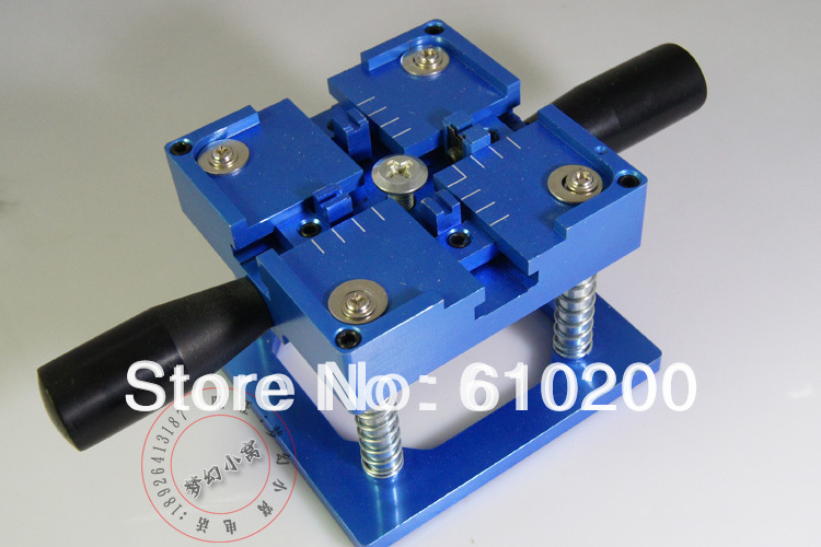 Send three stencil with handle BGA reballing station with hand shank BGA tin fixture<br>