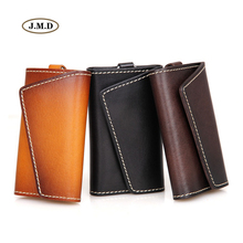J.M.D New Arrivals Genuine Leather Men's Fashion Style Classic Design Car Key Bag Supplier Key Bag Card Holder 8132A/B/B-1/Q-1/X(China)
