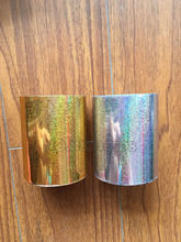 Two Rolls Sand Gold/Silver Hot Stamping Foil Paper DIY Heat Transfer for Hard Box Paper/Plastic Material with Shipping Cost