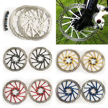 Cycling MTB G3 CS 2pcs 5 Colors Clean Sweep Road Mountain Bike Bicycle Disc Brake Rotor Bike Blots Screw 160mm Brakes EA14