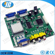 CGA TO VGA converter/CGA/EGA/YUV to VGA PCB/Red 2 VGA output-game accessory for arcade game machine/LCD game machine
