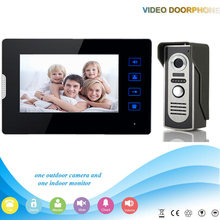 V70T2-M2 1V1 Manufacturer 7Inch Touch-Keys Video Door Phone for Apartments Home Security with Intercom System