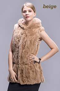 rex rabbit fur vest color 4