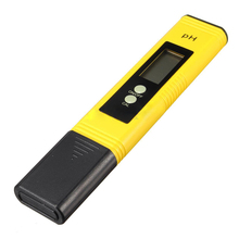 Buy AYHF-New LCD Pocket Digital Ph Meter Tester Hydroponics Pen Aquarium Pool Water Test yellow for $8.42 in AliExpress store