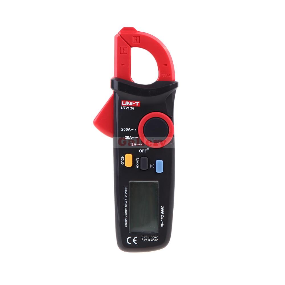 Uni T Ut210a 200a 2000 Conuts Ultra Portable Lcd Digital Clamp Meters Auto Range Current Tester with Display Backlight<br><br>Aliexpress