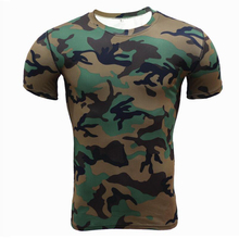 Buy Compression Shirts Camouflage Crossfit Shirt Fitness Men Tights Bodybuilding T-Shirt Workout Tops Base Layer Brand Clothing Male for $6.02 in AliExpress store