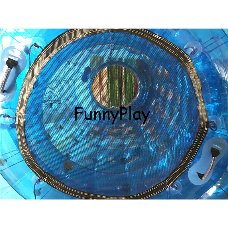 funny inflatable water roller3