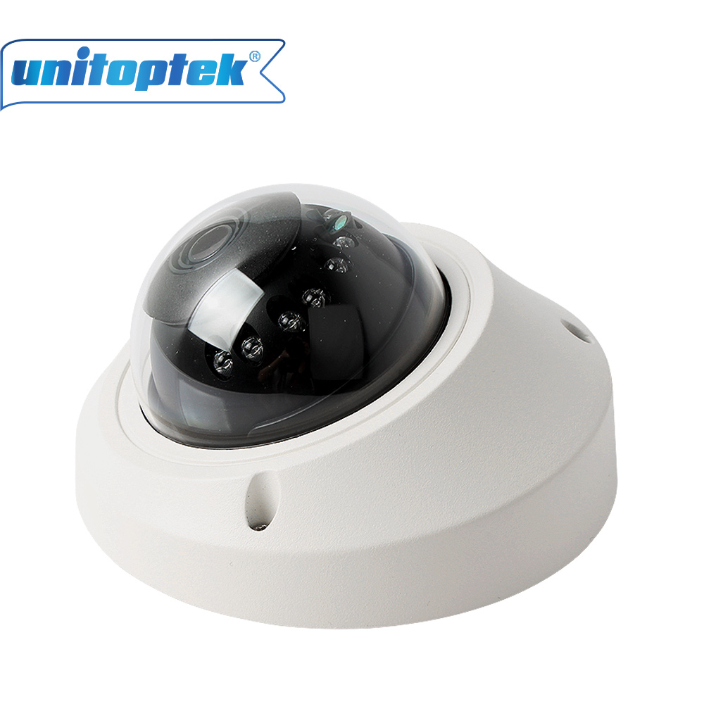 POE Port 1.0MP Mini Dome Camera Network Security 20M IR Vandalproof 720P IP Camera With P2P Cloud Onvif Android IOS Online View<br>