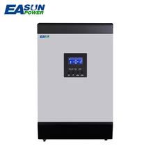 ESAUN POWER MPPT Solar Inverter 2Kva 24V 3Kva 3000W 48V Off Grid Inverter 220V 60A Hybrid Inverter 50Hz Pure Sine Wave Inverter(China)