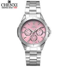 Sell watches women fashion luxury watch fashion All Stainless Steel High Quality Diamond Ladies Watch Women Rhinestone Watches(China)