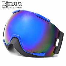 Ski Goggles Double Layers Frame TPU Lens PC Adult Flexible Sking Goggle 3 Layer Foam ski snow glasses goggles(China)