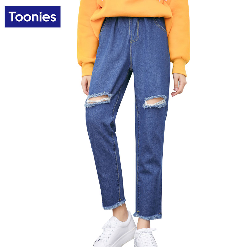 Loos Autunm Plus Size Jeans WomanS Loose High Waist Jeans Boyfriend Denim Pants Harem Pants Denims Ladies Women FemininoОдежда и ак�е��уары<br><br><br>Aliexpress