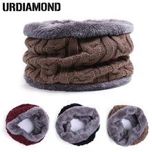New Brand Fashion Designer Winter Scarf For Men Women Scarf Thickened Wool Collar Scarves Sweater Man Neck Scarf Cotton Unisex(China)