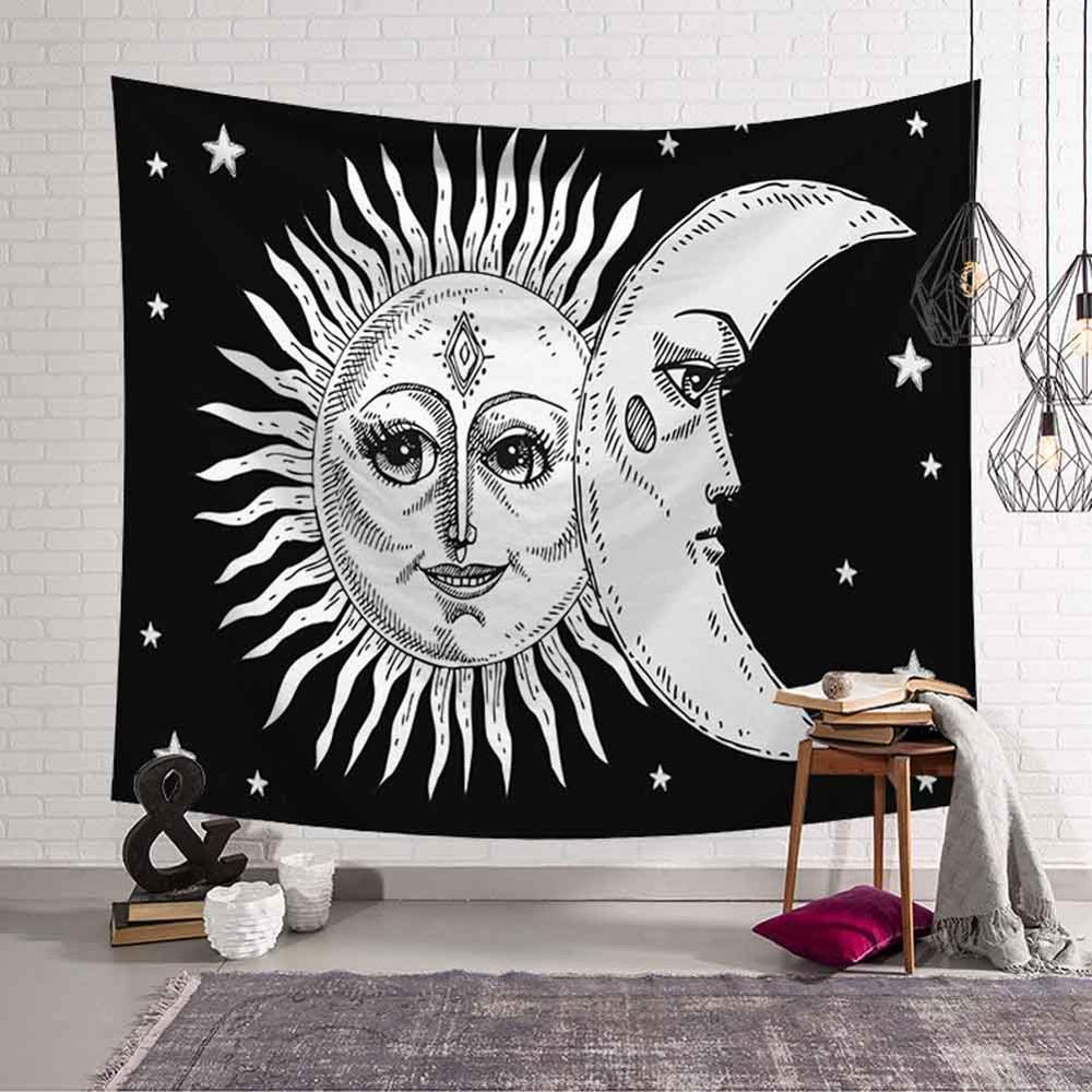 GT8076-9 Sun and Moon Tapestry