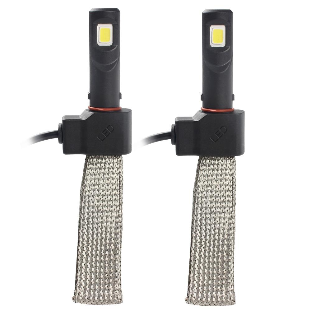 2pcs H7 LED Car Headlight Head Light Waterproof 3200LM 6000K Conversion Kit Aluminum Alloy Belt Heat Dissipation Car Styling<br><br>Aliexpress