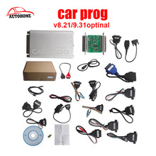 Top-rated Auto Repair Tool Carprog V8.21 V9.31 Newest Version With Full 21 Adaptors For Radio/Odometer/Dashboard/Immobilizers