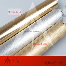 ARK LIGHT Dia 3cm Brushed Gold Aluminum cannular warm color led 3w Pendant Lamp TUBE Cylinder Shape LED hanging light bar lamp
