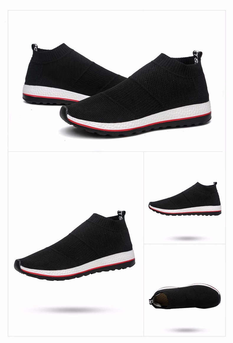 hot sale running shoes for men women sneakers sport sneaker cheap Light Runing Breathable Slip-On Mesh (Air mesh) Wide(C,D,W) 9
