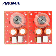AIYIMA 2Pcs 2 Way 2 Unit HIFI Audio Speaker Frequency Divider Stereo Crossover Filters