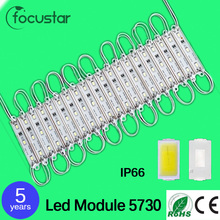 1000 pcs/Lot 5730 LED Modules Waterproof IP66 Led Modules DC 12V SMD 3 Leds Sign Led Backlights For Channel Letters White