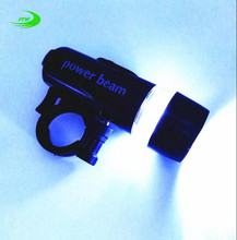 1pcs 5 LED Power Beam Black Front Light Head Light Torch Lamp for Bicycle Bike Hot Selling