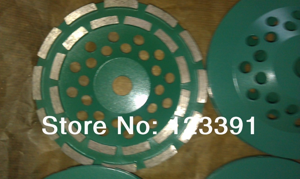 On sale of 1pc grinding wheel press&amp;sintering grade 180*22*5mm double row cup wheel for grinding marble/granite/ceramic/concrete<br><br>Aliexpress
