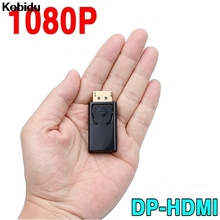 Kebidu Displayport DP Male To HDMI Female Connector Converter Adapter For AMD PC Notebook Laptop Monitor HD HDTV(China)
