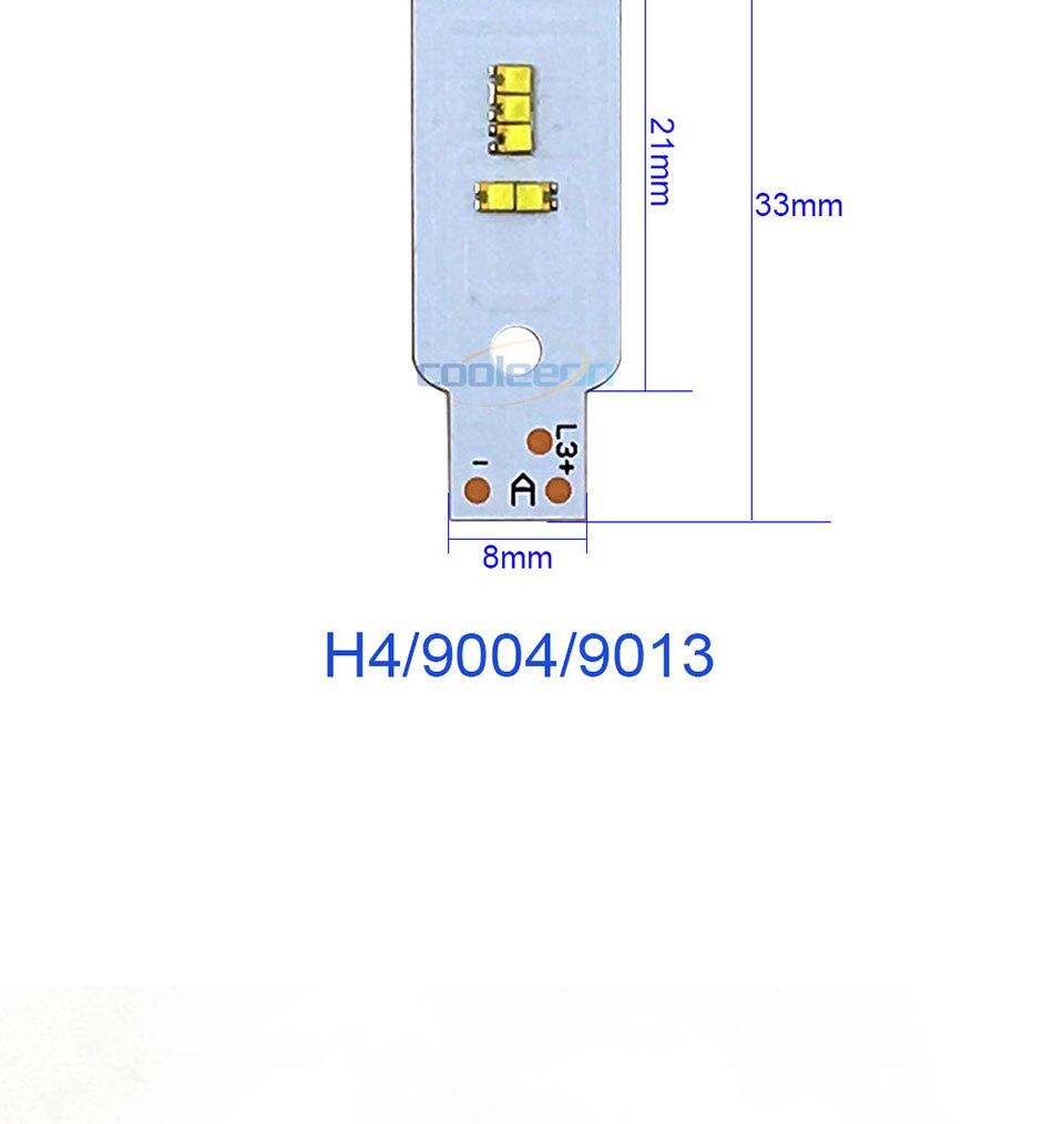 ZES COB LED Chip for X3 Car Headlight Bulbs H1 H3 H4 H7 9005 9006 880 H13 9004 9007 Auto Headlamp Light Source X3 ZES Chip (4)