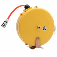Cheap High Quality HR-508 Mini 8X5MM 8M Automotive Air Hose Reel Automatic Retractable Reel Air Blower Industrial Blower(China)