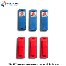Geiger Counter 2 pieces IDB-III thermoluminescence personal dosimeter high quality ionizing radiation dose card