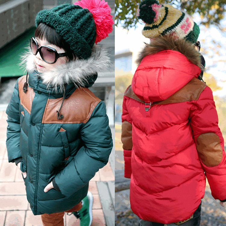 Free shipping winter boy clothes childrens clothing boy boy long-sleeved hooded quilted coat outerwearОдежда и ак�е��уары<br><br><br>Aliexpress