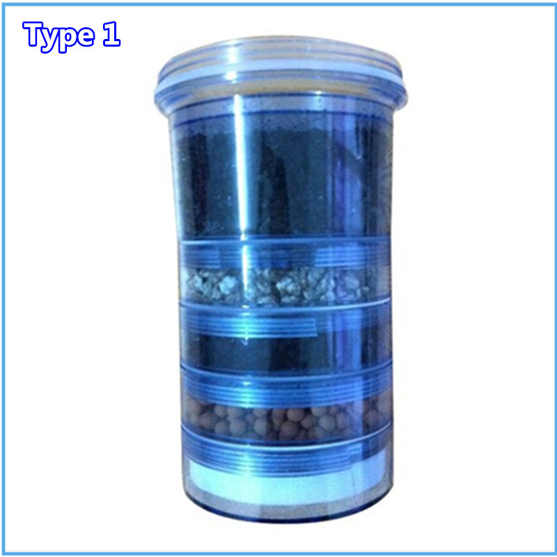 Updated 5 Stage Mineral Water Pot Replacement Filter Cartridge 85 x 74 x 144 (mm) for Household Water Filter Bucket<br>