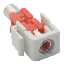 Keystone RCA Red Female To Female Connector(China)