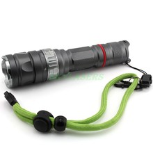 High quality Professional Diving 50M Flashlight 5-Modes Cree Q5 450LM Torch Waterproof Long-Shots Outdoor Lamp(China)