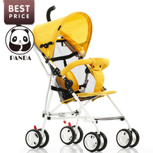 2017 Babypanda Store Pocket Stroller Light Folding Portable Carriage Carry On Airplane Baby Stroller Baby Bike Car 2 Free Gifts