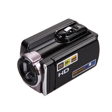 NI5L 1080P Digital Video Camcorder Full HD 16x Digital Zoom DV Camera Kit Black