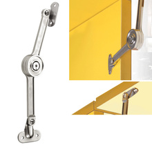 Furniture Door Free-stop Rod Cabinet Kitchen Cupboard Machinery Fold Hinge Hardware Randoml Stop Home Support Pole Accessory(China)
