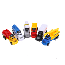 Children Colorful Model Car 6Pcs/Set Pull Back Alloy Car Truck Model Kit Car Force Control Car For Kids Christmas Gift Toy(China)