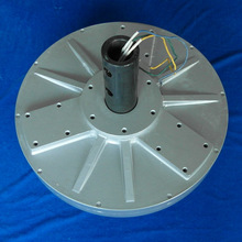 PMG550 2kw 380VAC 150RPM vertical axis wind turbine disc coreless PMG Three Phase Permanent Magnet Alternator generator