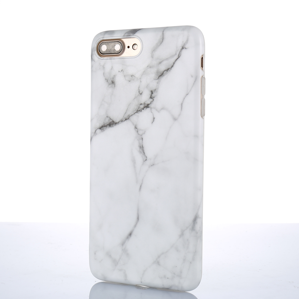 Luxury Marble Pattern i 7 Phone Cover Case For iPhone 7 Plus Soft TPU Back Cover For iPhone7 Plus Black Phone Accessories Coque (7)