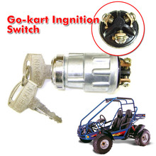 3 Wiring Terminal Go Kart Ignition Start Switch Key 50 90 110 125 150 250cc UTV Moped TAOTAO SUNL DROP Shipping Wholesale