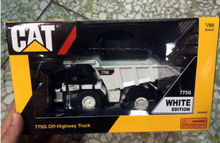 TONKIN 1/50 CATERPILLAR CAMION DUMPER CAT 775G OFF HIGHWAY TRUCK WHITE TR30002 Construction vehicles(China)