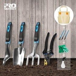 Prostormer 10 шт. садовый инструмент и лопаты бонсай набор Садовые ножницы с перчатками садовые подарки с лопатками