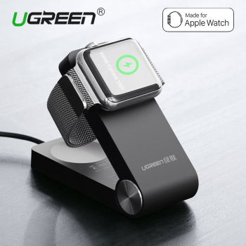 Ugreen MFi Certified Magnetic Charging Dock Holder Foldable Stand charger for Apple Watch 42mm 38mm Charger Holder Universal