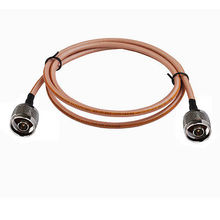 "20"" N-Type male plug to N male Jumper Pigtail Coax Cable RG142 50cm for Wireless(China)"