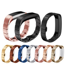 Stainless Steel watchband Luxury watchbandes Magnetic Loop Customized Watch Band Wrist strap For Fitbit Alta HR Smart Watch(China)